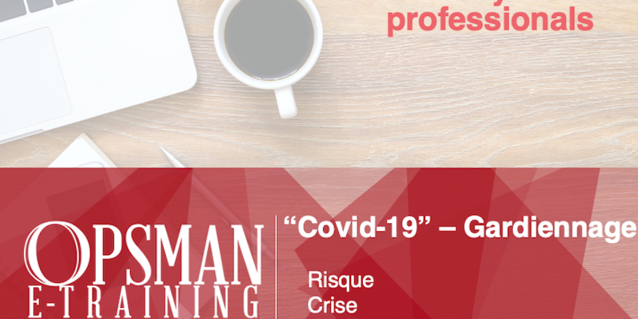 Security guard training Covid-19